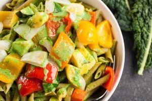 Renk Cümbüşü: Sebzeli Makarna
