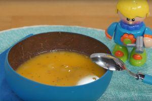 7-8 Aylık Bebeklere Özel: Elmalı Tatlı Patates Çorbası