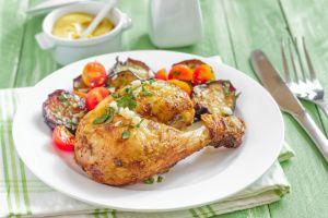 Patlıcan Kalp Tavuk: Fırında Patlıcanlı Tavuk But