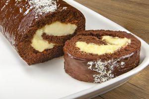Sarılasın Gelir: Çikolatalı Muzlu Rulo Pasta