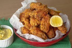 Ben Bunu Yerim: Cips Kaplı Tavuk Kanatları