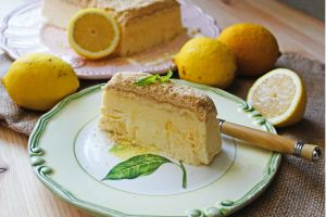 Bisküvili Limonlu Parfe Tarifi