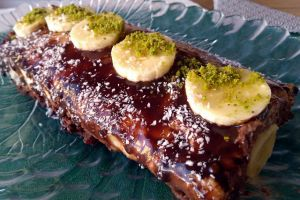 Hazırlaması Pratik: İrmikli Muzlu Rulo Pasta
