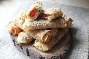 Hem de Çok Hafif: Fırında Paçanga Böreği