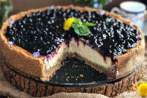 Lezzeti Muazzam: Yaban Mersinli Cheesecake