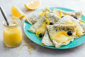 Onunla Kahvaltı Pek Bir Havalı: Limon Soslu Haşhaşlı Krep