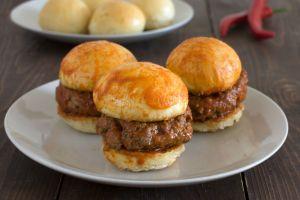 Tam 12 Adet: Mini Islak Hamburger
