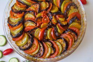 Ratatouille da Denir: Fırında Sebze Dizmesi