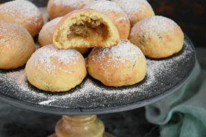 Pastane Tadında: Tam Ölçülü Elmalı Kurabiye
