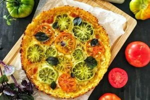 Tadanlar Hayran Kalacak: Yeşil Domatesli Karnabahar Pizza