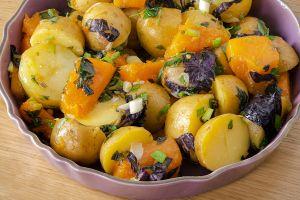 Doyurucu ve Pratik : Bal Kabaklı Patates Salatası