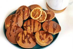 Yumuşacık Lezzetiyle: Çikolata Dolgulu Pancake