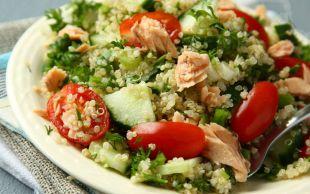 Sen de Gel: Ton Balıklı Kinoa Salatası