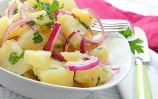 Yanına da Kısır: Kolay Patates Salatası