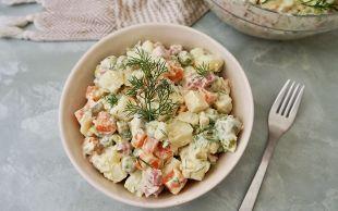 Kalorisiyle Sevin: Rus Salatası