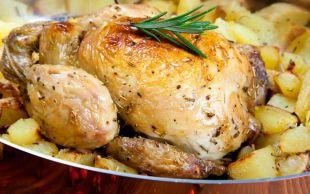 Nar Gibi Kızarsın: Fırında Patatesli Tavuk