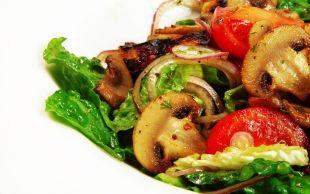 Kalori Hesapçılarına: Mantar Salatası