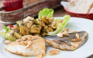 Naif İstanbul'dan: Bademli Çipura ve Patates Salatası