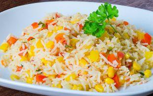 Pilava Alternatif: Pirinç Salatası