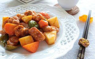 İştah Açan Çinli: Tatlı Ekşi Soslu Tavuk