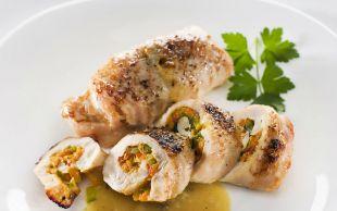 Sarılmak İstersin: Kremalı, Sebzeli Tavuk Ruloları