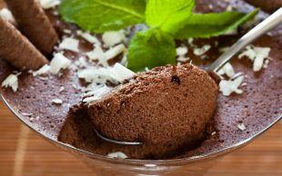 Köpük Köpük Tatlı: Çikolata Mousse
