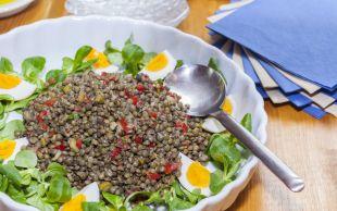 Et Kadar Doyurucu: Yeşil Mercimek Salatası