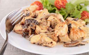 Sosuyla Enfes: Kremalı Mantarlı Tavuk