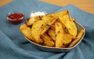 Kızartmadan, En Hafif Haliyle: Fırında Patates