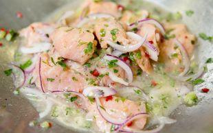 Peru Mutfağının Gururu: Somon Ceviche