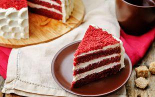 Sezonun Rengi: Red Velvet (Kadife Dokulu, Kırmızı) Pasta