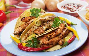 Keyif İşi: Tavuklu Taco