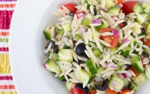 Hafif ve Renkli: Arpa Şehriye Salatası