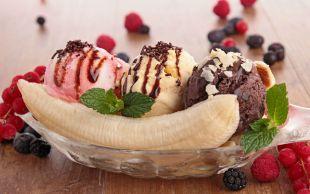Bir Muz Tatlısı: Banana Split
