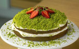 Dünyanın En Yeşil Pastası: Ispanaklı Pasta