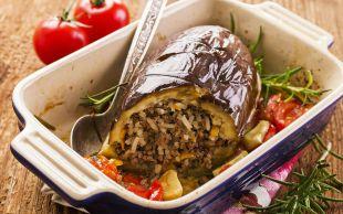 Fırında da Pişer: Patlıcan Dolması