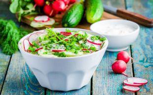 Turp Gibi Olun Diye: Turp Salatası