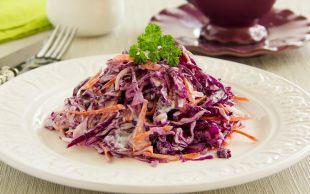 Dayanamaz Yersin: Kırmızı Lahana Salatası