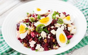 Renginde Sağlık Var: Pancar Salatası