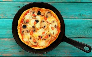 Çok Pratik: Tavada Pizza