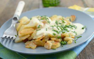 Hafif Sevenlere: Peynir Soslu Yer Elması