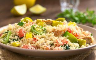 Bulgura Rakip: Tavuklu Kuskus Salatası