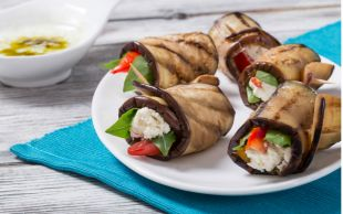 Diyetler de Keyifli Olabilir: Diyet Patlıcan Ruloları