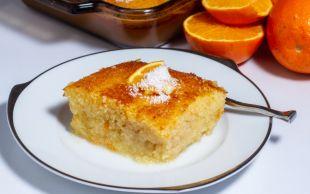 İçinde Un Yok: Portakallı Revani