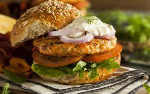 Balık Sevenlere: Somon Burger