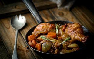 Çok Basit: Fırında Mantarlı Tavuk