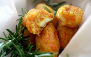 Çıtır Eşlikçi: Fırında Peynirli Sebze Kroket