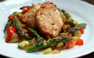 Hafifliyoruz: Tavuk Köftesi ve Sote Sebzeler