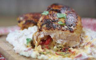 Ateş Ediyor: Kolay Beğendili Tavuk Dolması