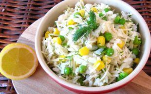 Pilav Üstü Tavuğu Aratmaz: Pirinçli Tavuk Salatası